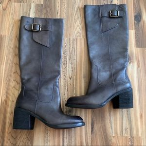 Lucky Brand heeled riding boots